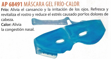 máscara de gel
