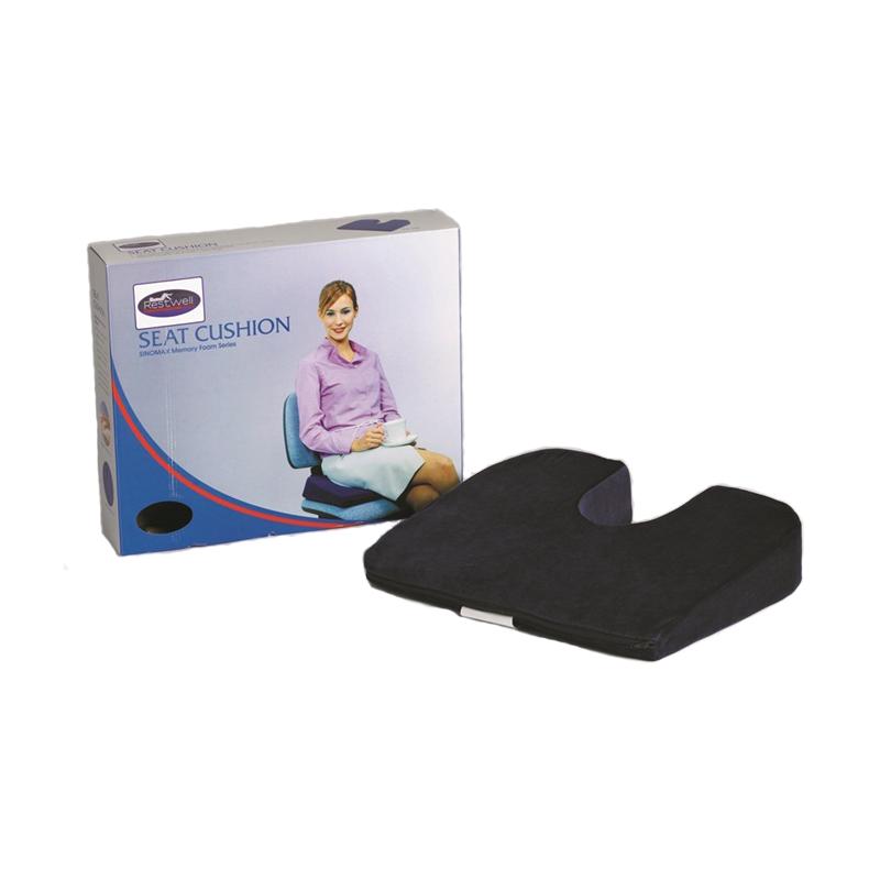 Coj n para asiento previene el dolor de espalda asister - Cojines para sentarse ...