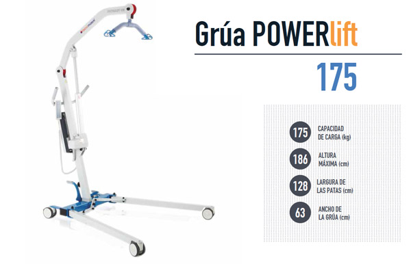 Grúa POWERLIFT 175 TECNIMOEM
