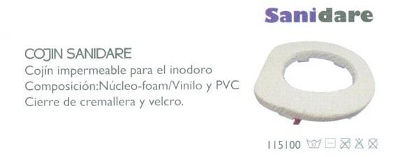 Almohada Alcolchada. Especialmente diseñado para el inodoro.