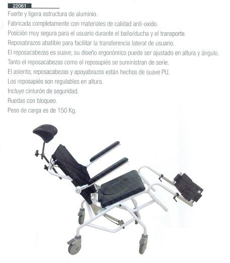 Silla De Baño Con Inodoro:Silla Baño/Ducha