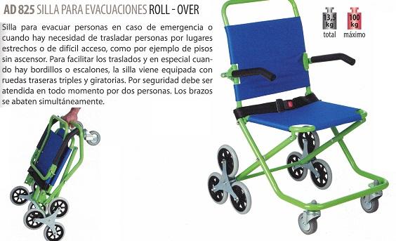 Para Silla Asister Roll Traslados Los Evacuaciones OverFacilitar UpVqzSMG