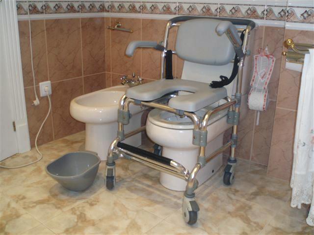 silla con inodoro