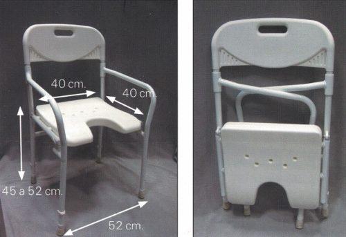 medidas silla de baño garcía 1880