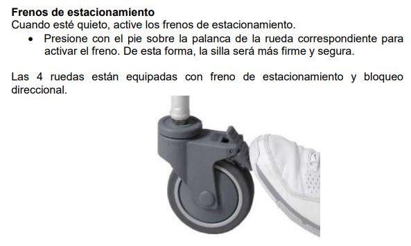 Frenos Silla De Ducha Basculante