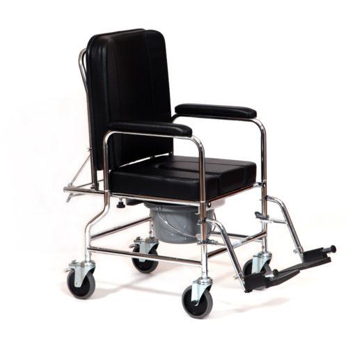 silla de ruedas con orinal incorporado reclinable