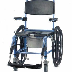 silla de ruedas para ducha