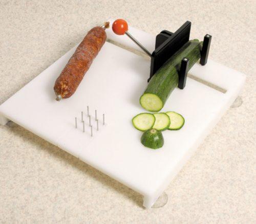 tabla de cortar para sujetar comida