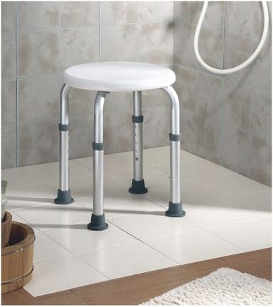 Taburete ba o ducha de aluminio reducidas dimensiones - Taburete para bano ...
