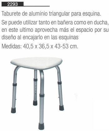 Asiento Esquinero 2 MODELOS - Fija y TAKE AWAY