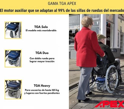 motores TGA de APEX Medical