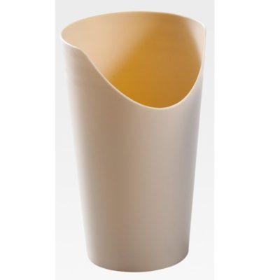 vaso color crema nosey