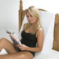 Respaldo Para Cama HARLEY Con Funda. Comodidad para leer, sentarse, dormir.