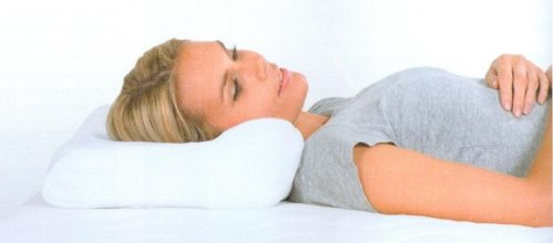 Almohada Designer Estándar HARLEY. Garantiza una posición cómoda y relajada para dormir.