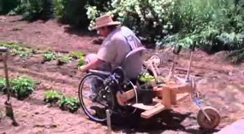 Huerta Para Personas en Sillas De Ruedas, ¿Se Puede Trabajar en Silla de Ruedas en un Huerto Ecológico? <span style='color:red;'>VIDEO</span>
