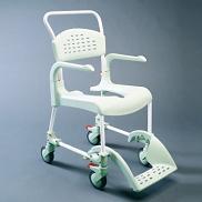 sillas para ducha y wc con ruedas