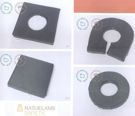 Cojines Viscoelásticos Impermeables NATURLAMB