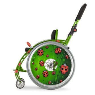 Active manual pediatric wheelchair