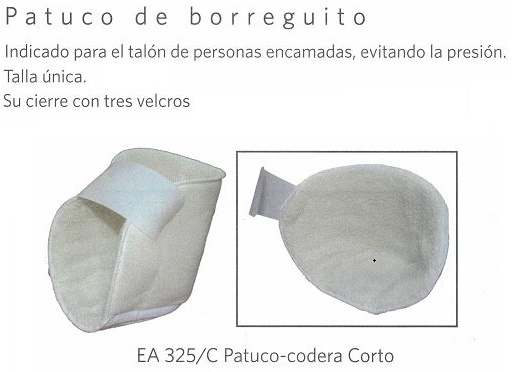 talonera codera borreguito