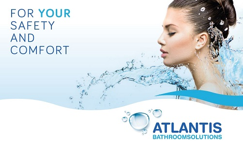 logotipo ATLANTIS Bathroom Solutions