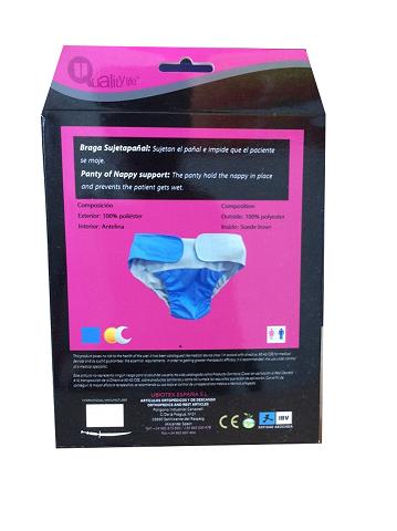Producto sostener pañal adaptable y standard