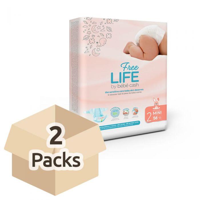 Pañales Infantiles FREELIFE bébécash T2 MINI