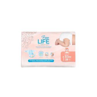 embalaje pañal recién nacido