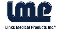logotipo LINKS Medical products Inc.