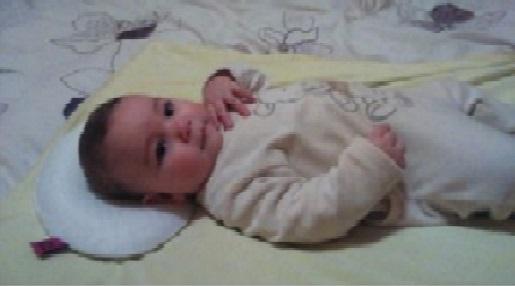 para Evita Plagiocefalia de Cabeza Plana Almohada Ortop/édica y Cuna Lactancia para Beb/é Recien Nacido 0~18 Meses con Funda Lavable A Almohada Beb/é Almohada de coche de beb/é
