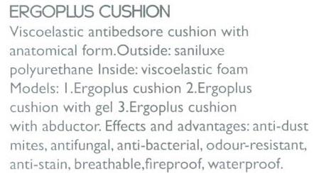 Cojín Ergoplus