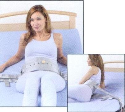 Cinturón Cama Cierre Magnético Polipropileno. Forro de rizo de algodón en su interior.