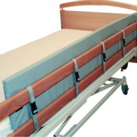 Protector De Barandilla de cama Acolchado