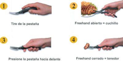 freehand cuchi-tenedor