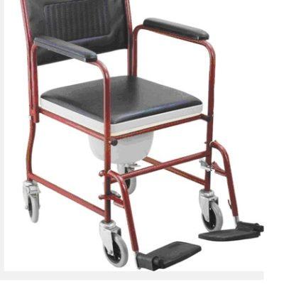 silla con inodoro portátil