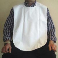 Babero Impermeable En RIZO Con Lazos