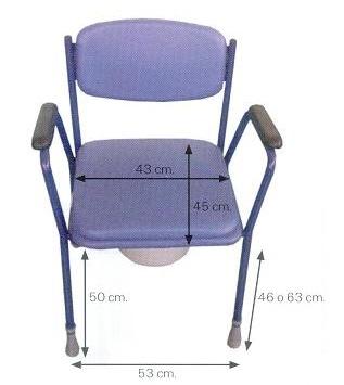 asiento con orinal de habitación