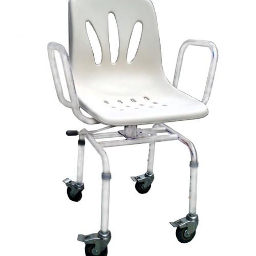 sillas para ducha y wc con ruedas facilitar las tareas