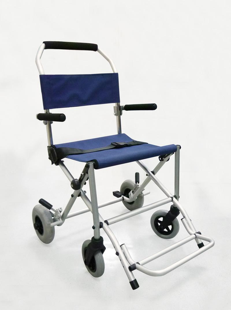 Silla de ruedas de transporte plegable gran utilidad - Sillas de viaje ...