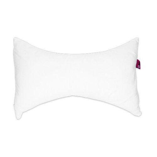 almohada cervical blanca mariposa