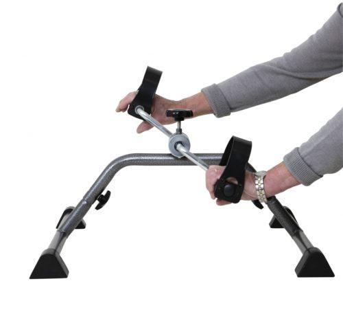 ejercicios de brazo y muñeca con pedalier