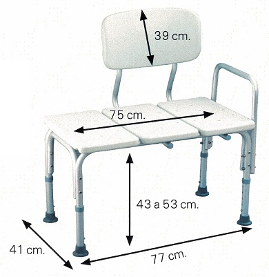 Silla para ba era proporcionan mayor estabilidad asister - Sillas para baneras para mayores ...