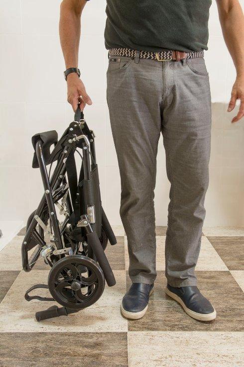 transporte de silla de ruedas