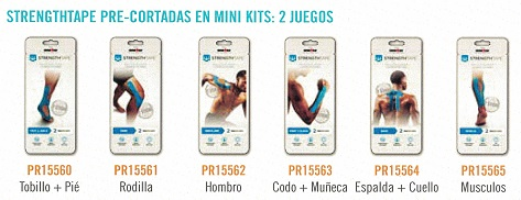 Strength Tape Mini Kits De 2 Unds