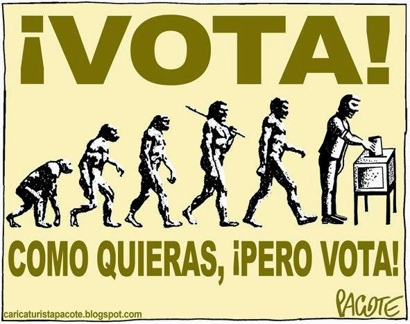 Votar ¿Por qué Debemos ir a Votar? HAY QUE VOTAR