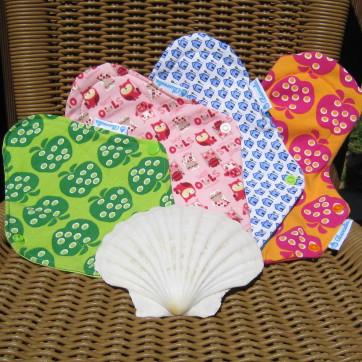 compresa absorbente textil reutilizable