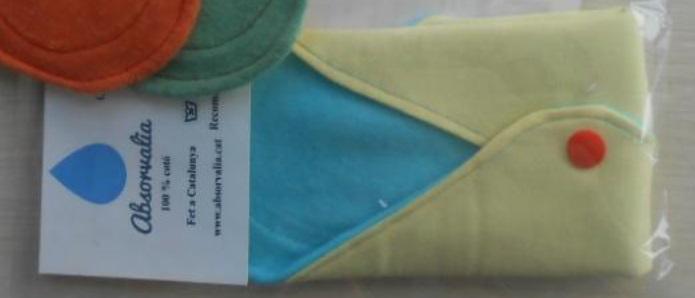 Embalaje Compresa Absorbente Textil REUTILIZABLE