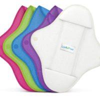 Compresas Y Protege Slips REUTILIZABLES De LadyPad. Compresas, protege-slips y compresas extraíbles. De bambú orgánico y de algodón orgánico.