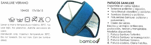 Patuco Sanitized SUAPEL BAMBU Verano