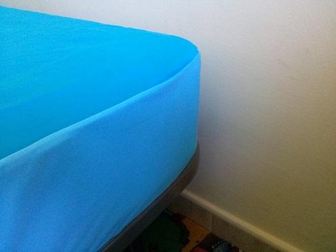 sábana y protector