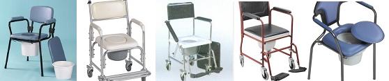 sillas con inodoro